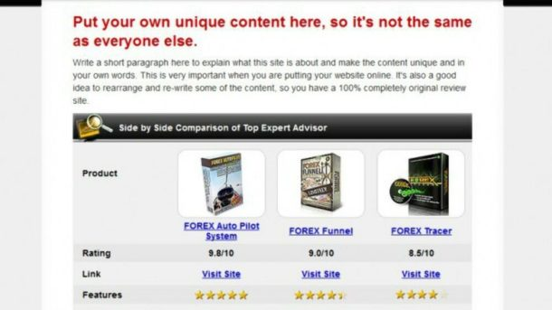 ClickBank Forex Review Website