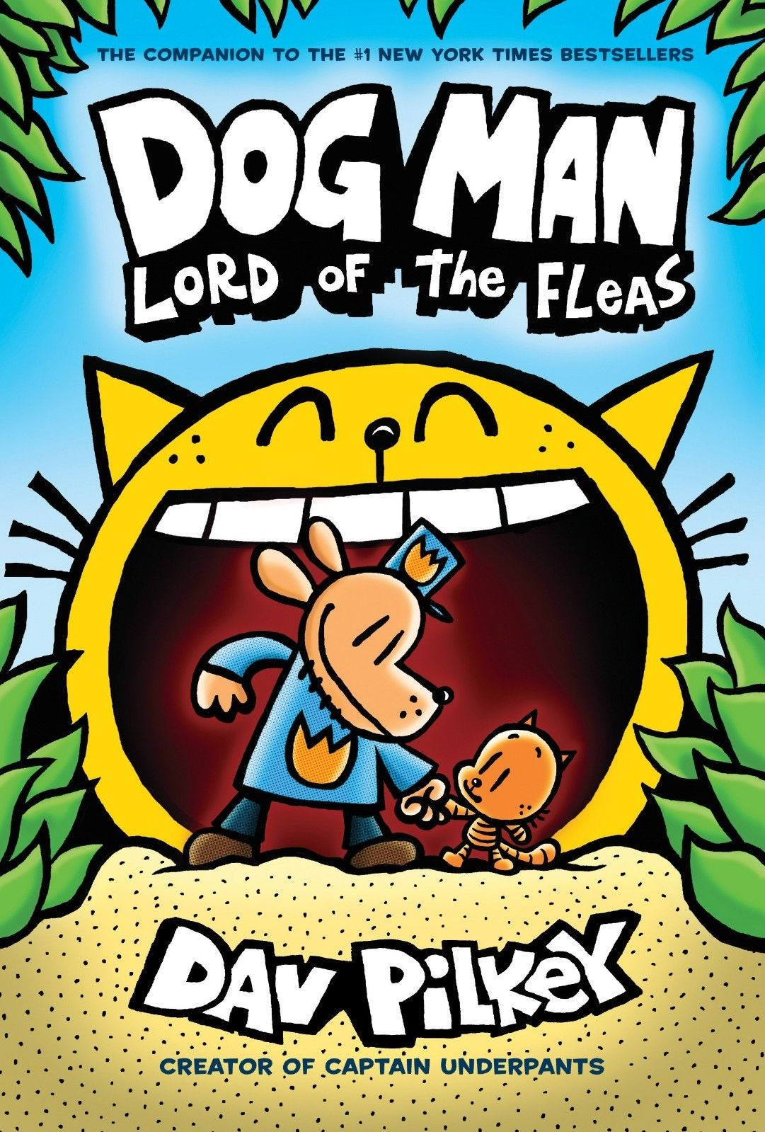 Dog Man: Lord of the Fleas: From the Creator of Captain by Dav Pilkey Hardcover