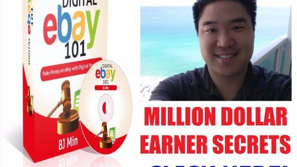 EBAY SECRETS BY MILLION DOLLAR EARNER INTERNET MARKETING ONLINE BUSINESS COURSE!
