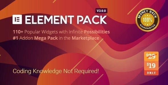 Element Pack v3.0.2 - Addon for Elementor Page Builder