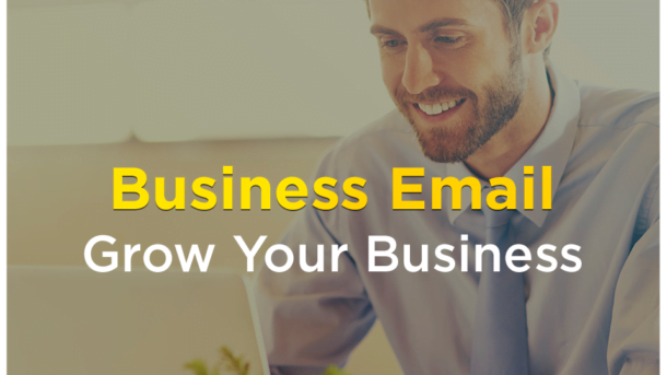 Email for Business: 50 accounts (5GB) + 1 .COM Domain + Control Panel