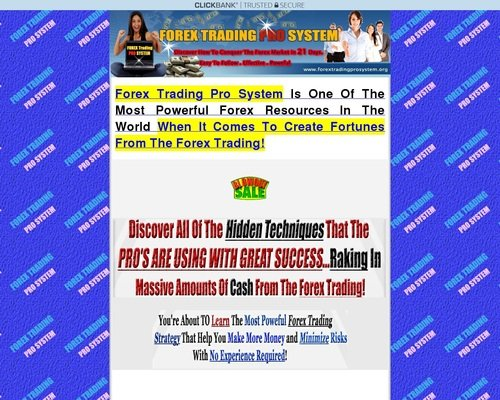 Forex Trading Pro System! | Good To SEO