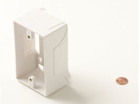 Junction Box For Wall Plates White