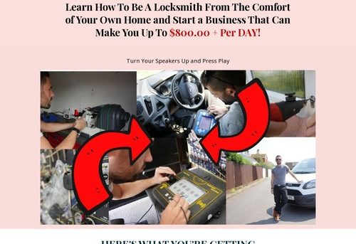 Locksmithing Sectrets Online Course. Insane Hungry Audience