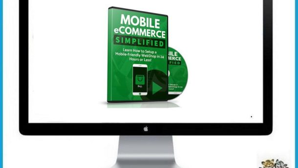 Mobile eCommerce Simplified * Videos, Sales Page & Ecovers * Digital Download