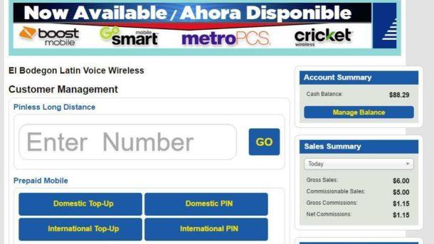 Recharge Cuba Cell Celular .77c per Min  Dealer Website Portal High Commissions