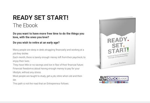 READY SET START – The Ebook