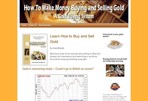 How To Make Money Buying and Selling Gold – Gold Buying System