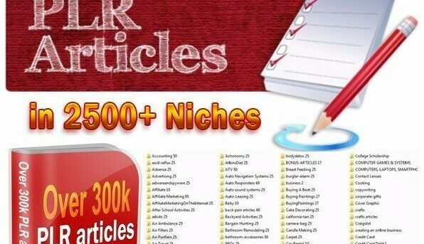 300K PLR ARTICLES + A collection of PLR EBOOKS  FREE SHIPPING ALL RESELL RIGHTS!