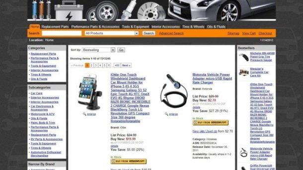 Turnkey Amazon Car Parts Affiliate Store Turnkey Website Free Hosting 1 Month