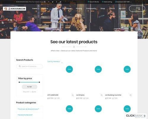 E-business & E-marketing | KOKOSHUNGSAN Global Village-Marketing Solution & Multiple sources