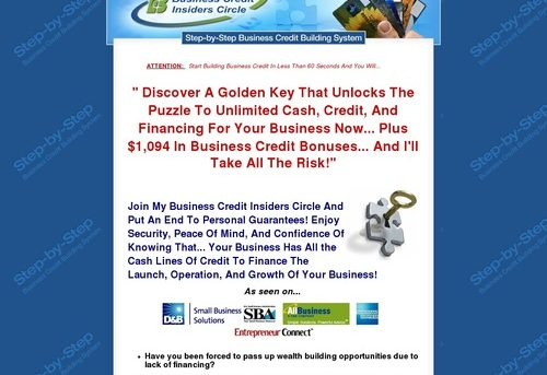 Start Building Business Credit Today!