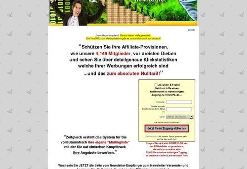 Die neue Werbeform im Internet... ViralURL.de
