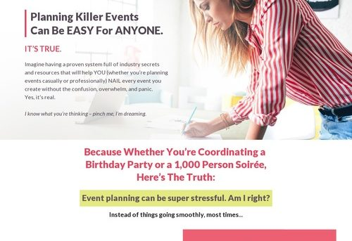 The Event Toolkit - Plan an event that WOWs!