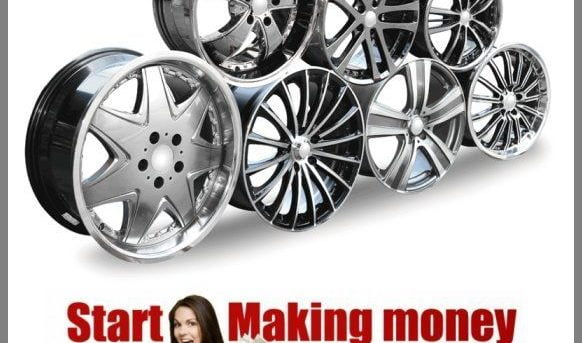 ALLOY WHEELS Website|Upto $439.25 A SALE|FREE Domain|FREE Hosting|FREE Traffic