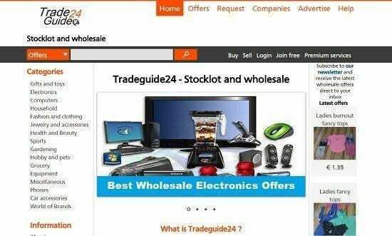 Biggest Website for stocklot trading – B2B Marketplace –Tradeguide24.com