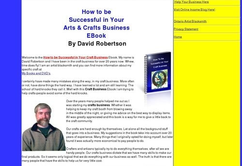 Craft Business Success, How to be Successful In Your Craft Business   Craft Business   Home Craft Business