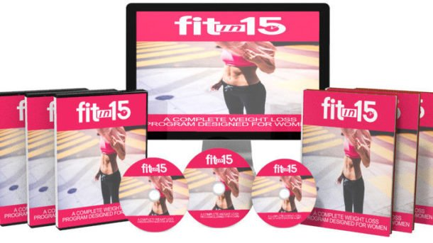 Fit In 15  Exercise Software With Ready Made Sales Page & Master Resell Rights