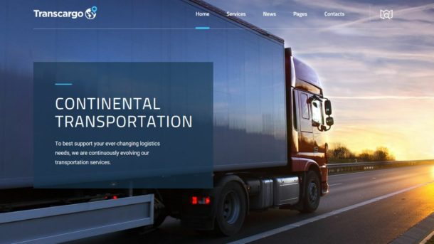 Responsive Transportation, Courier Website