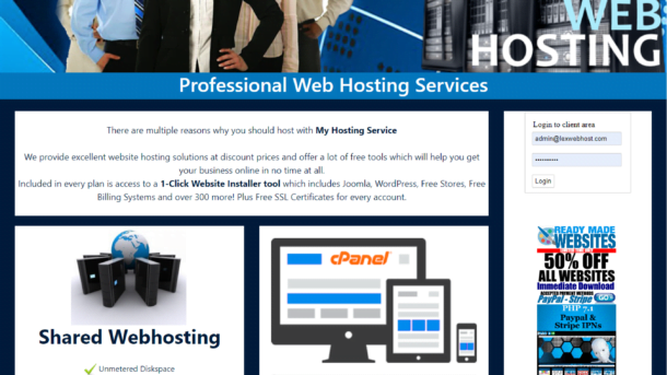 Run Your Own Automated Reseller Hosting Billing Website Theme3