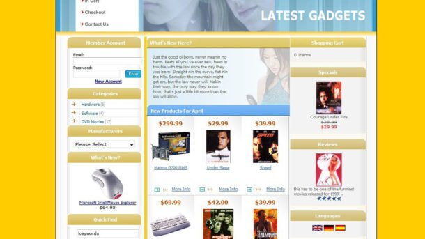 Start Your Online Shop Store Website Shopping Cart Business Ecommerce Solutions