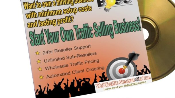 Website Traffic Reseller Business in a box