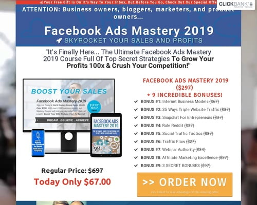 Facebook Ads Mastery 2019 | Good To SEO