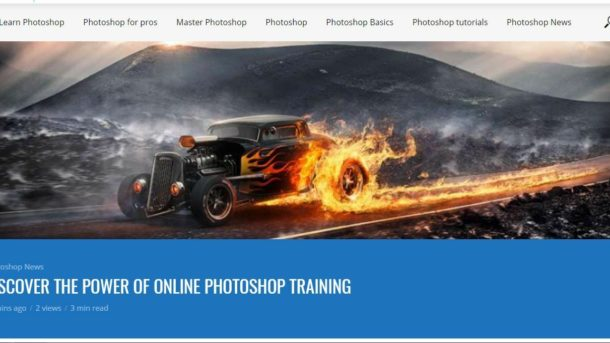 learn photoshop Quickly Video and articles Wordpress Website