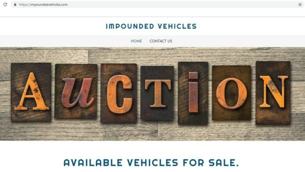 www Impounded Vehicles dot Com URL Domains Website Business $ RARE $ MAKE OFFER!