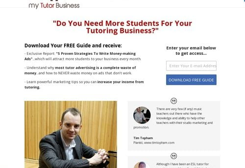 Tutoring Business From Home