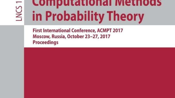 Analytical And Computational Methods In Probability Theory: First International