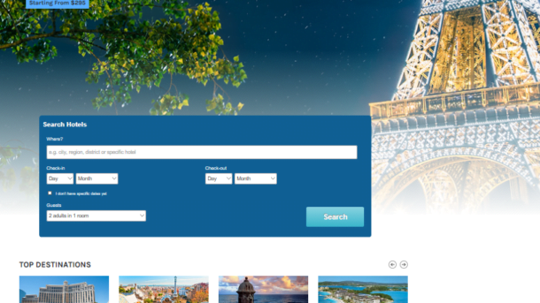Automated WordPress Travel Website Make $1 - $4/Click Free Hosting For 1 Month