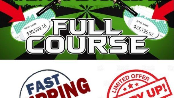 BIG BUNDLE (4 COURSES) Make $$$$ - PRINT ON DEMAND & DROPSHIPPING