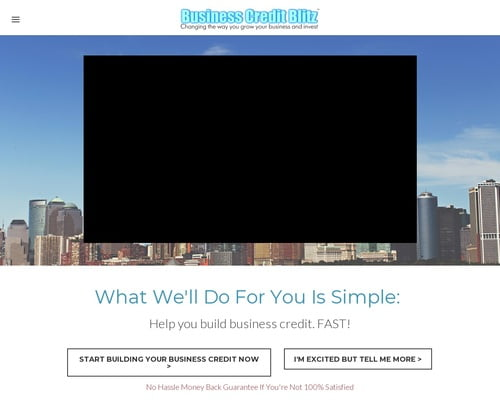 Business Credit Blitz - Free Business Credit eBook