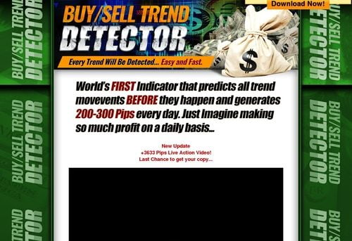 Buy/ Sell Trend Detector - Brand New Unique Forex Tool!