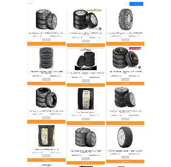 CAR TIRES WEBSITE FULLY STOCKED - NEW FREE DOMAIN + HOSTING - EASY TO RUN