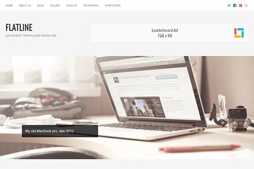 FREE INSTALLATION: Flatline Business & Services Website - Wordpress Website