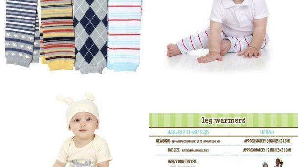 Judanzy Baby Boys Preppy 4 Pack Of Leg Warmers