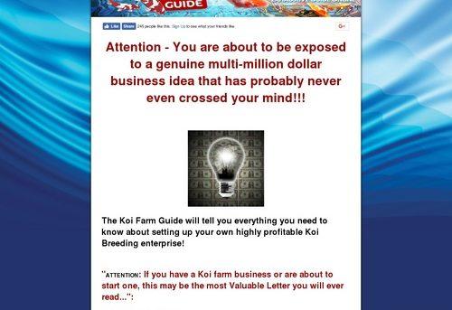 Koi Farm Guide