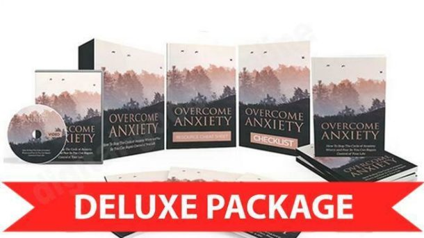 Overcome Anxiety Formula & Video Upgrade Package / Master Resell Right & Website
