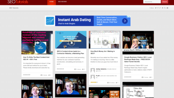 Turnkey SEO Video Tutorial Website Script - Wordpress, Autopilot, Google Adsense