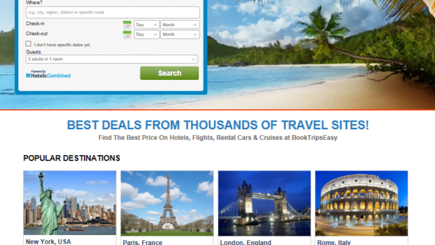 Turnkey Travel Site - Hotels, Flights, Cruises & Rental Cars Make $1 -$4/Click