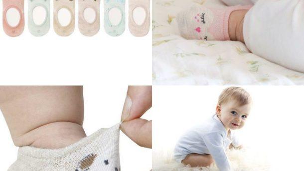 Vwu 6 Pack Baby No Show Socks Toddler Low Cut Cotton Socks Animal 0-3Y