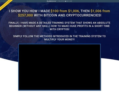 I show You how I made $100 from $1,006, then $1,006 from $257,000 with Bitcoin and crypto currencies! Finally, I have made a detailed training system that shows an absolute beginner (without any skill) how to make huge profits in a short time with cryptos!