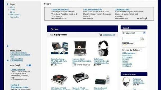 Established DJ Equipment Store Affiliate Business Website For Sale! Work at Home