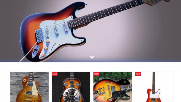 Established Guitar Turnkey Website BUSINESS For Sale - Profitable DropShipping