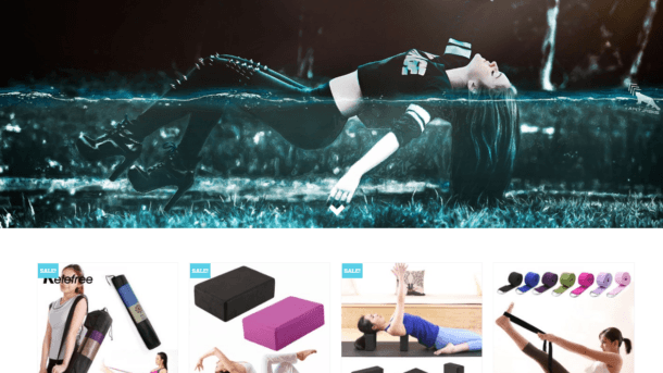 Established Yoga Turnkey Website BUSINESS For Sale - Profitable DropShipping