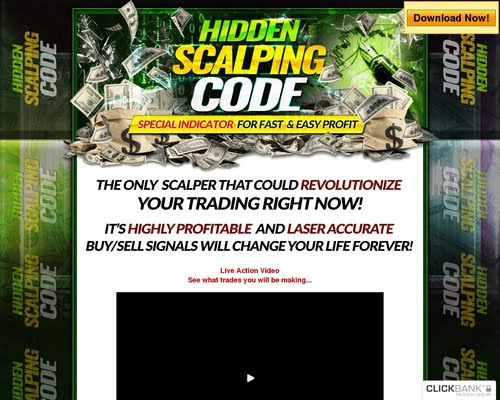 Hidden Scalping Code! 65% Commision!