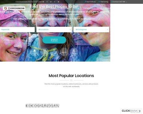 KOKOSHUNGSAN-Global Business Directory & Multi-income sources