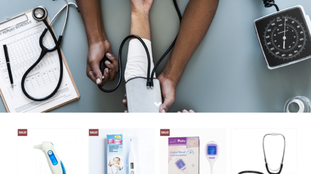 Medical Equipments Turnkey Website BUSINESS For Sale - Profitable DropShipping